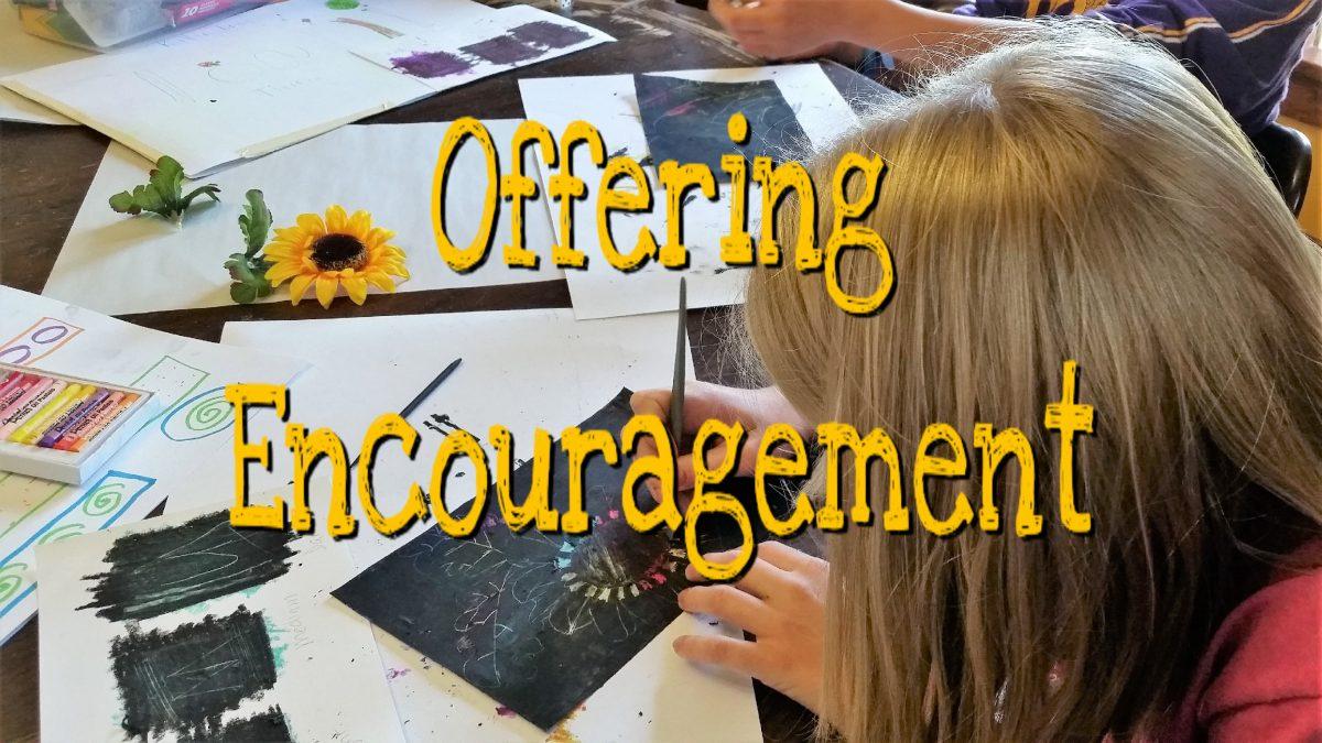 Encouraging Students